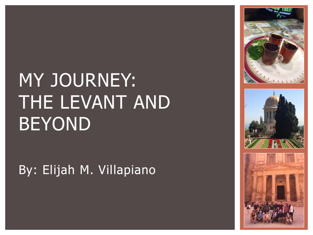 Elijahs journey the levant and beyond i ibrahim elijahs journey the levant and beyond i fandeluxe Gallery